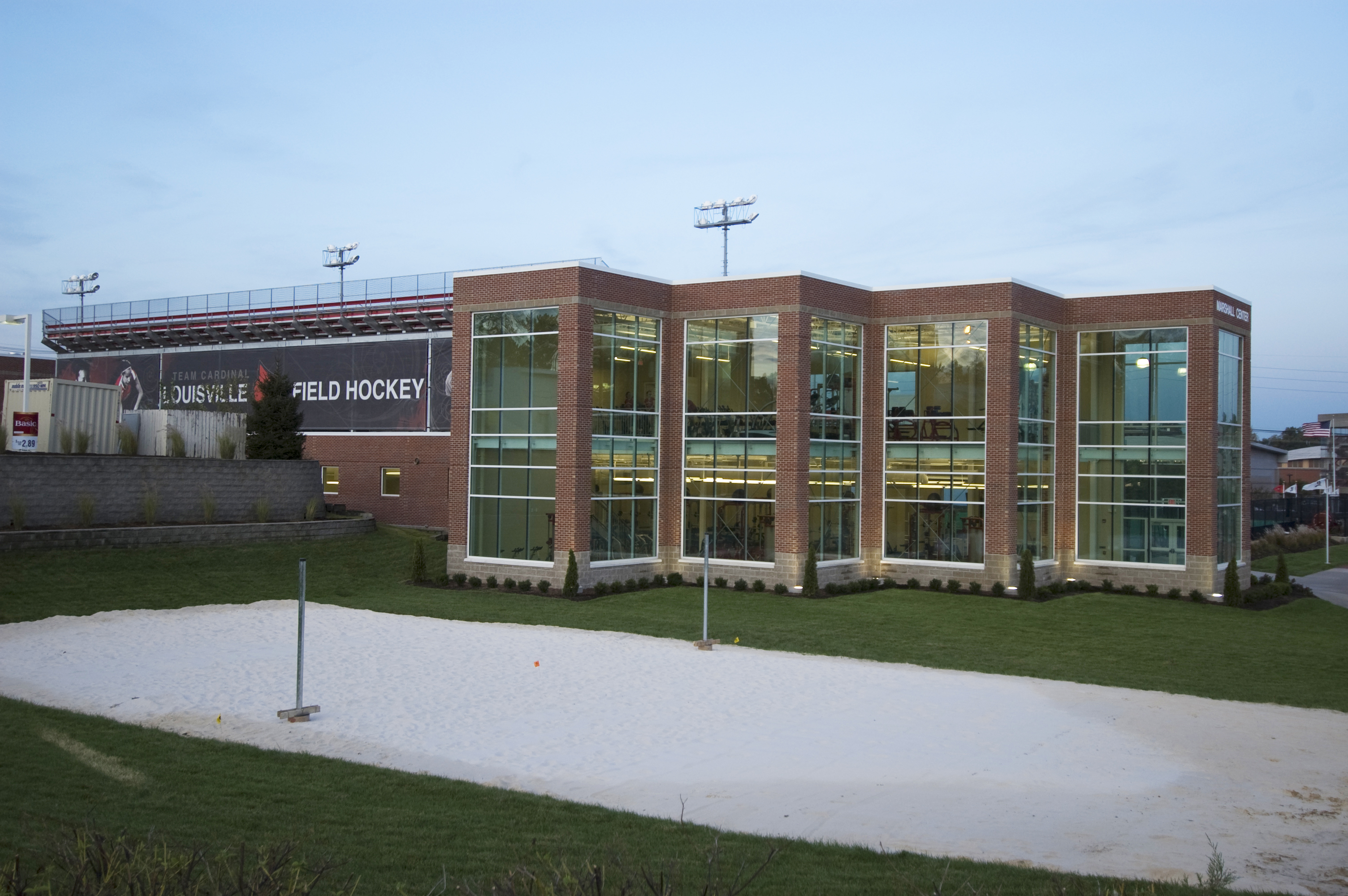 university of louisville marshall athletic center